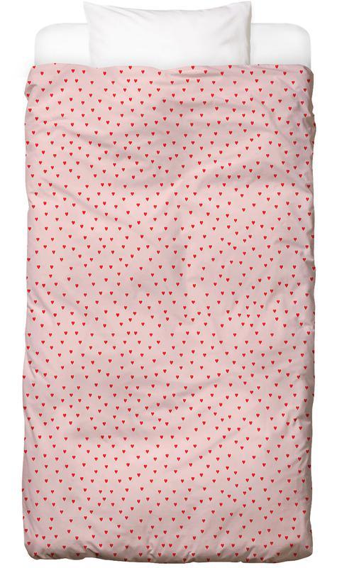 Muster, Hearts -Kinderbettwäsche