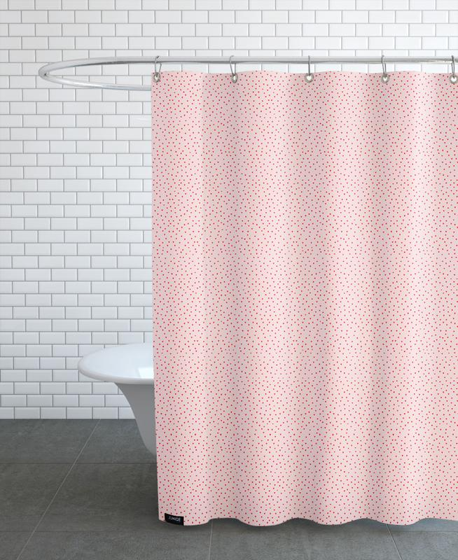 Patterns, Hearts Shower Curtain