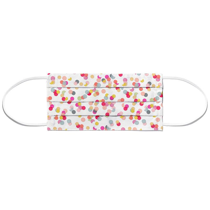 Confetti Mix Pink Face Mask