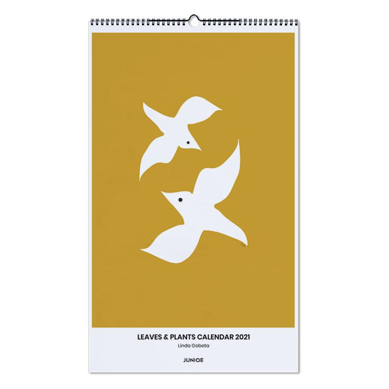 Bladeren en planten, Linda Gobeta - Leaves & Plants Calendar 2021 wandkalender