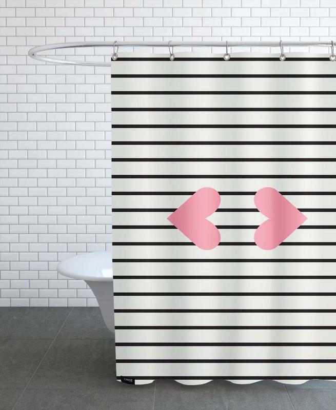Kiss -Duschvorhang