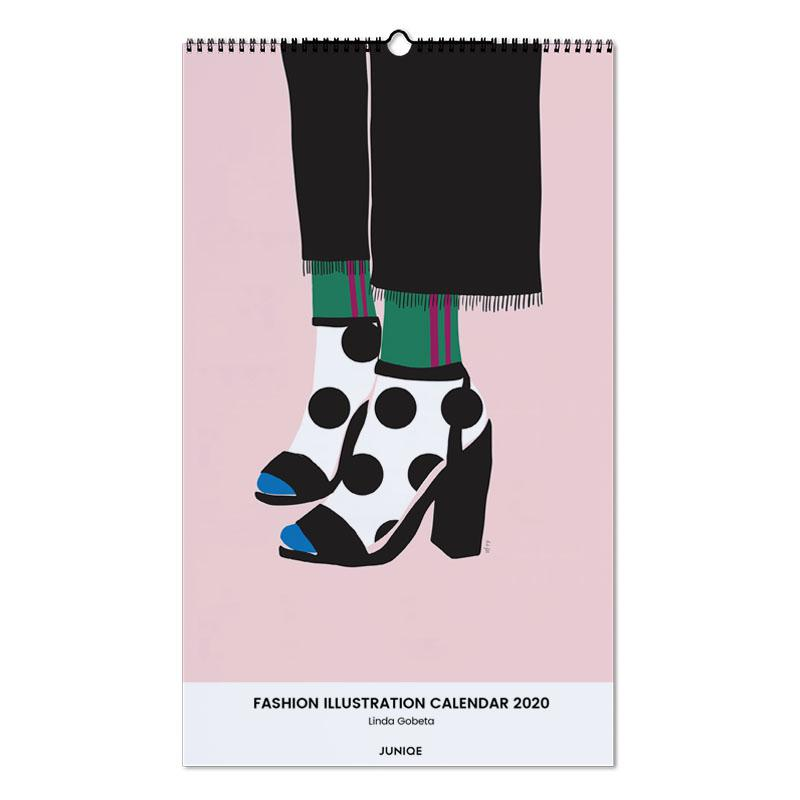Fashion Illustration Calendar 2020 - Linda Gobeta calendrier mural