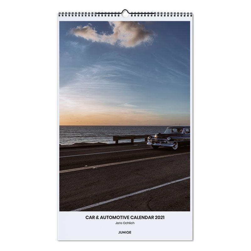 Auto's, Jens Ochlich - Car & Automotive Calendar 2021 wandkalender