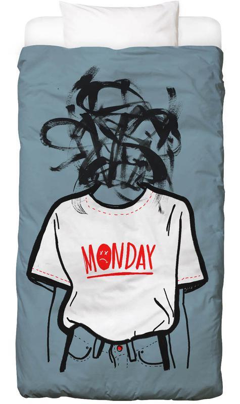 Détails corporels, Monday housse de couette enfant