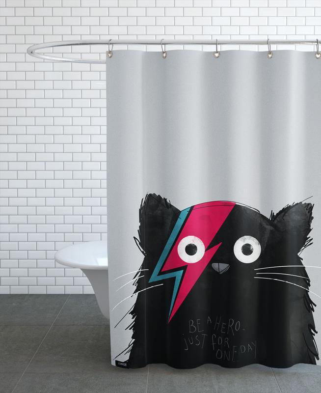 Chats, Art pour enfants, Cat Hero rideau de douche