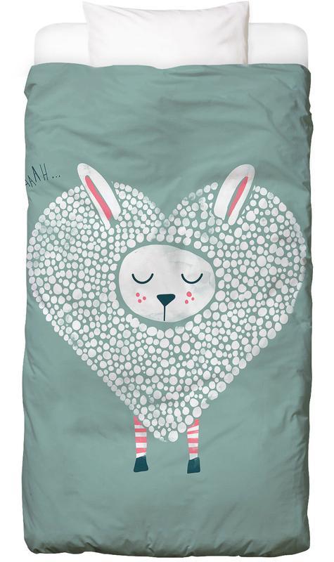 Schafe, Valentinstag, Cute Love Bettwäsche