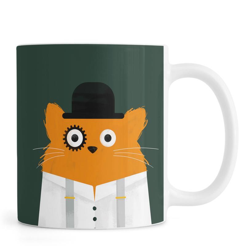 Chats, Films, Cat - Clockwork mug