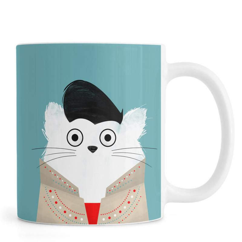 Elvis, Chats, Cat - Elvis mug