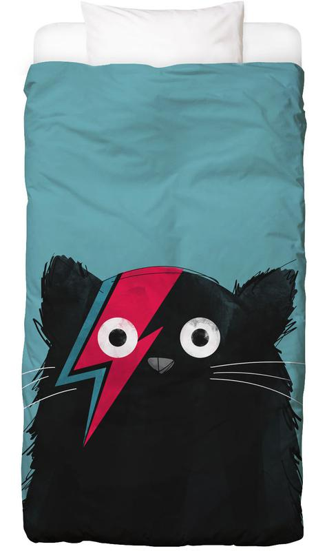 David Bowie, Chats, Cat - Hero 2 housse de couette enfant