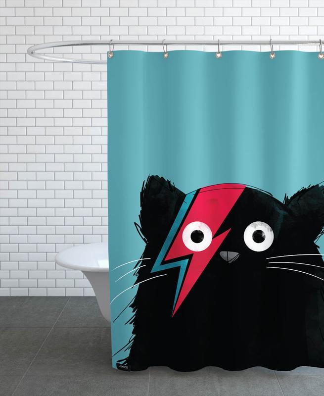 Cat - Hero 2 -Duschvorhang