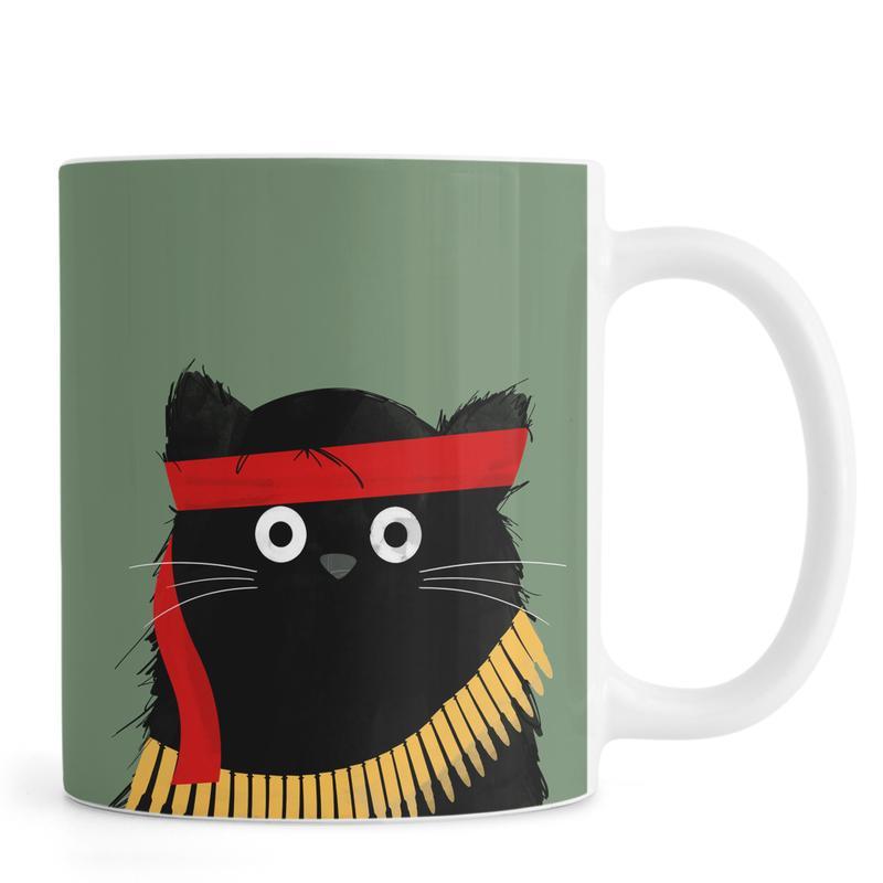 Cat - Rambo Mug