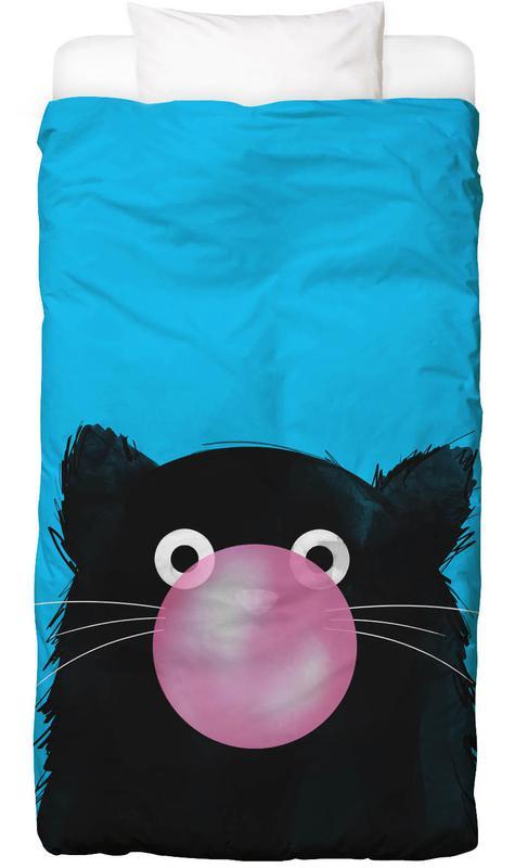 Chats, Cat Bubble housse de couette enfant