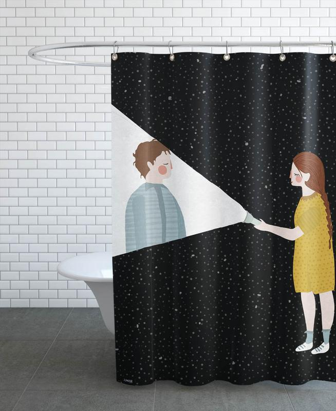 I Found You Shower Curtain