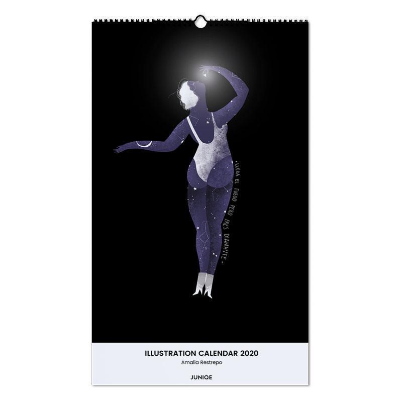 Illustration Calendar 2020 - Amalia Restrepo Wall Calendar