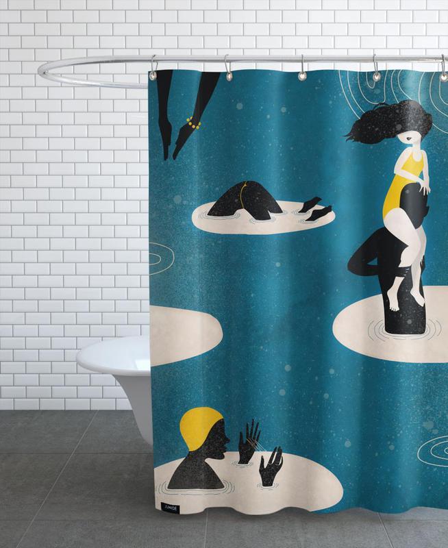 Badetag Shower Curtain