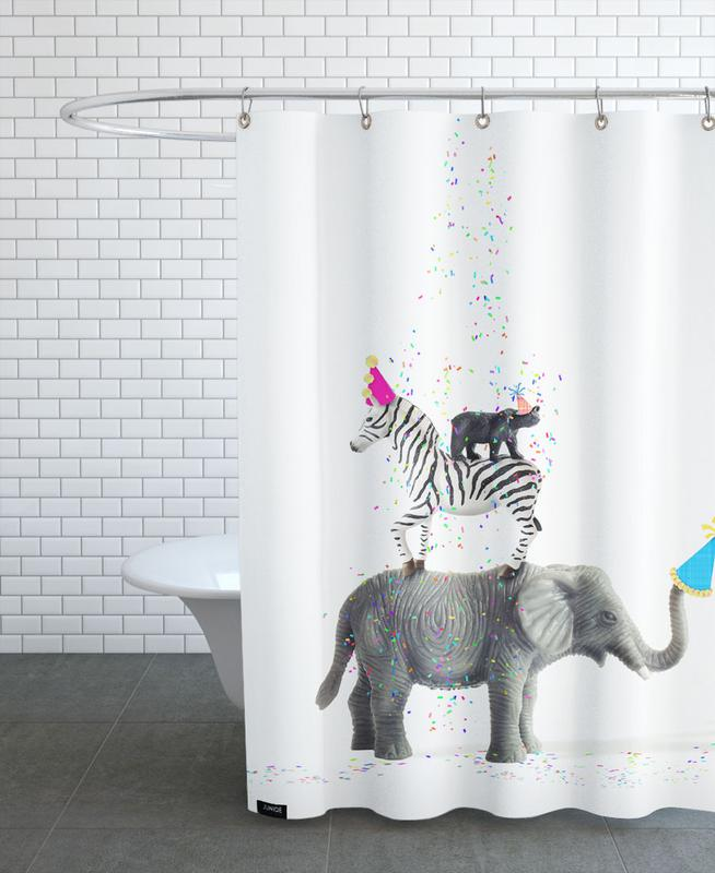 Party Animals rideau de douche