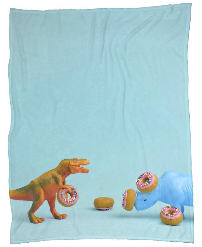 Ring Toss Fleece Blanket