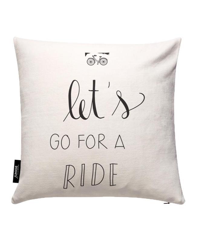 Ride Cushion Cover