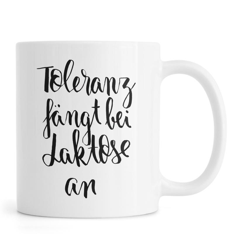 Zitate & Slogans, Toleranz -Tasse
