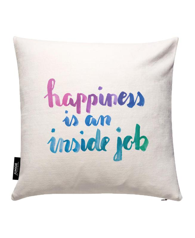 Happy Cushion Cover