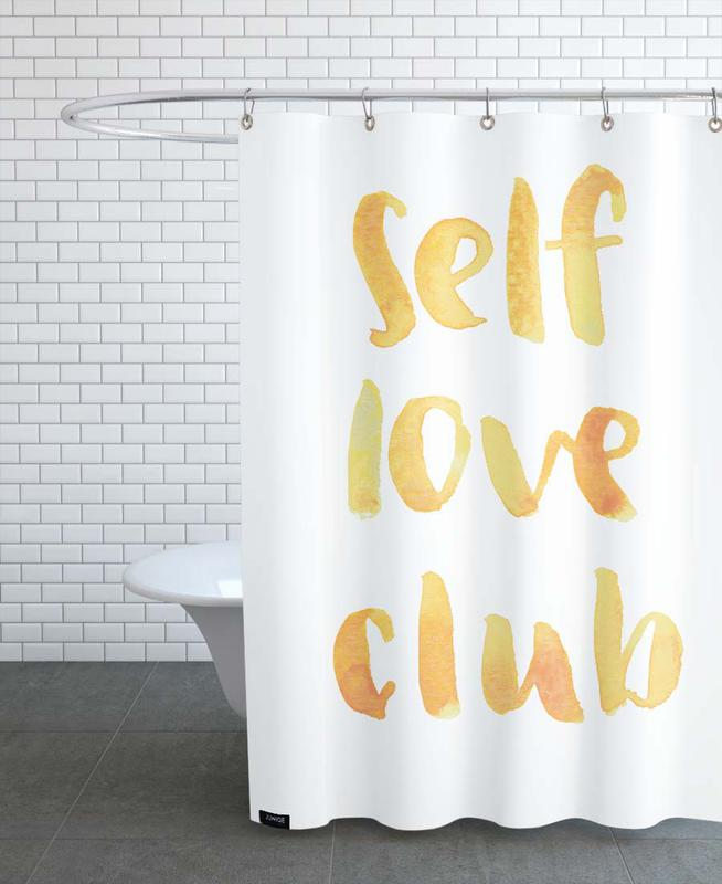 Self Love Club -Duschvorhang