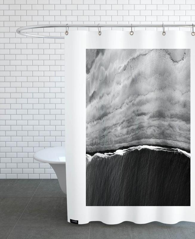 Black Ocean -Duschvorhang