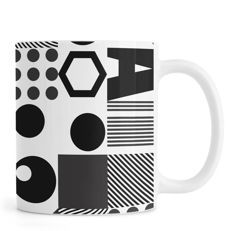 Geometric 2 -Tasse