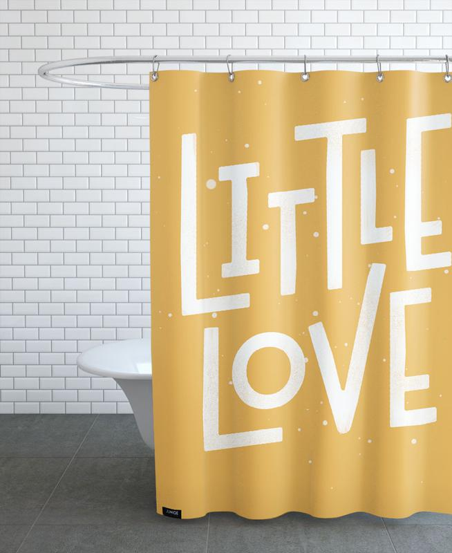 Love Quotes, Quotes & Slogans, Birth & Babies, Little Love Shower Curtain