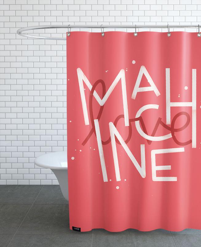 Love Machine Shower Curtain