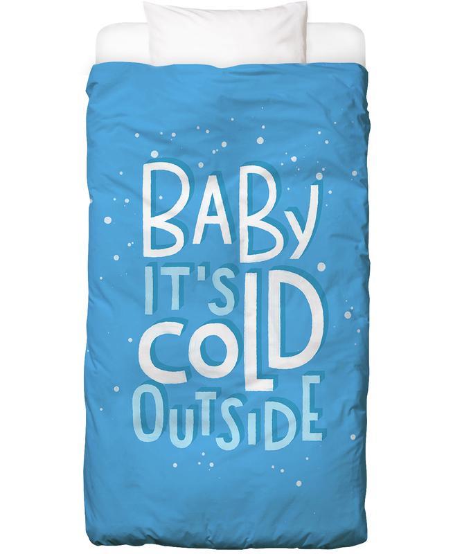 Christmas, Lyrics, Cold Outside Bed Linen