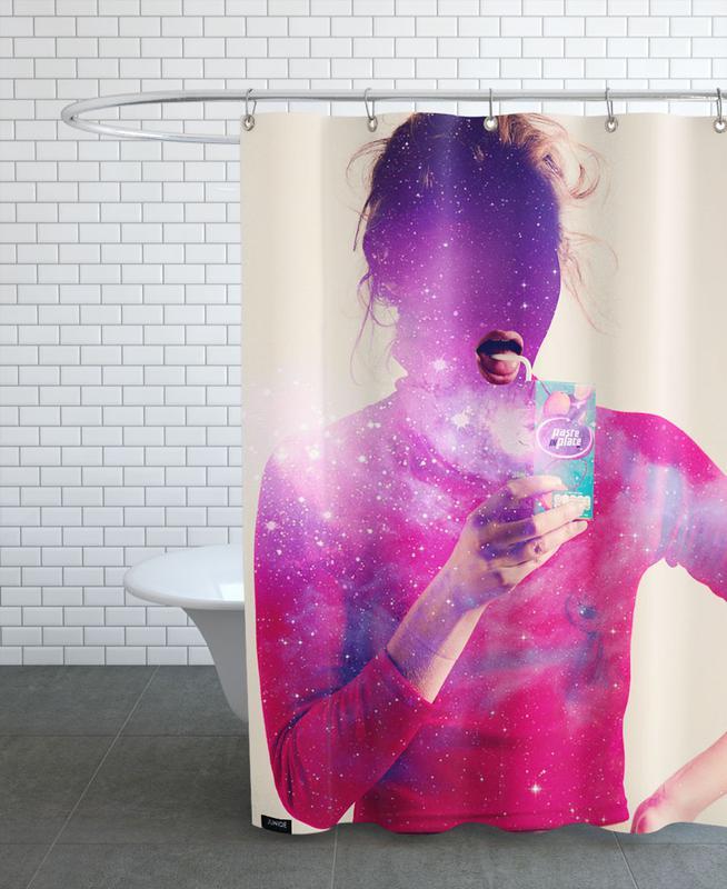 Cosmos Juice Shower Curtain