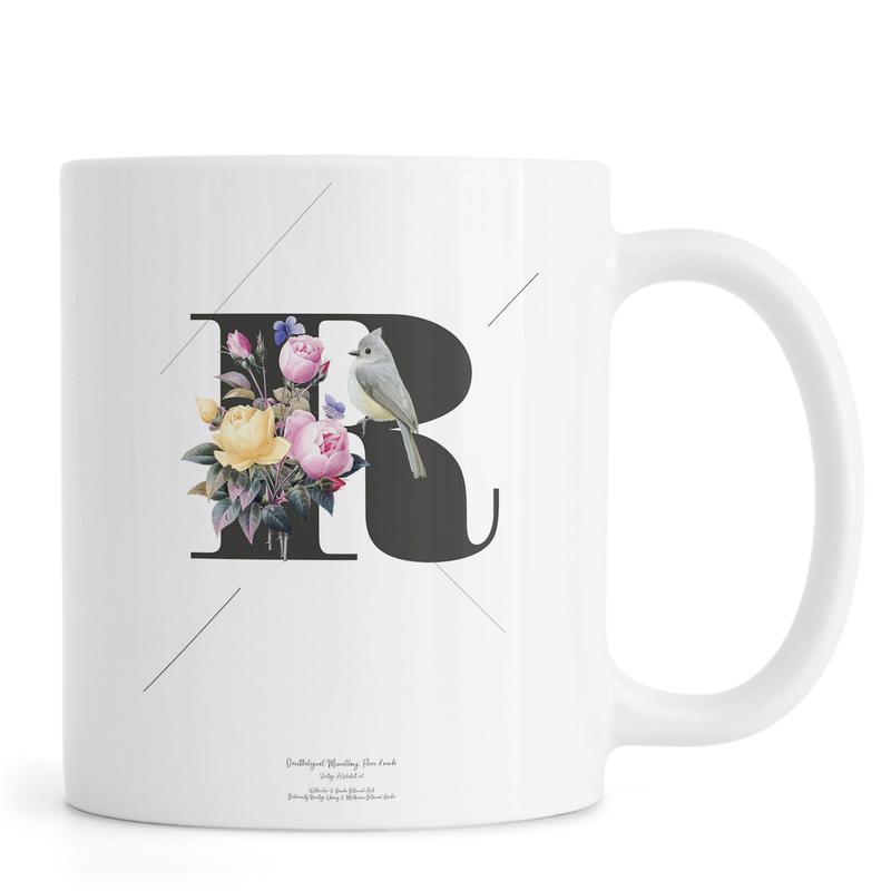 Botanical Alphabet - R Mug