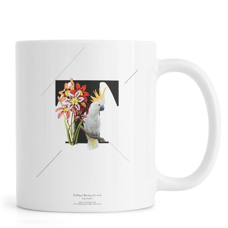 Botanical Alphabet - T -Tasse