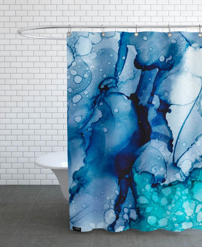 Ink No. 10 Shower Curtain