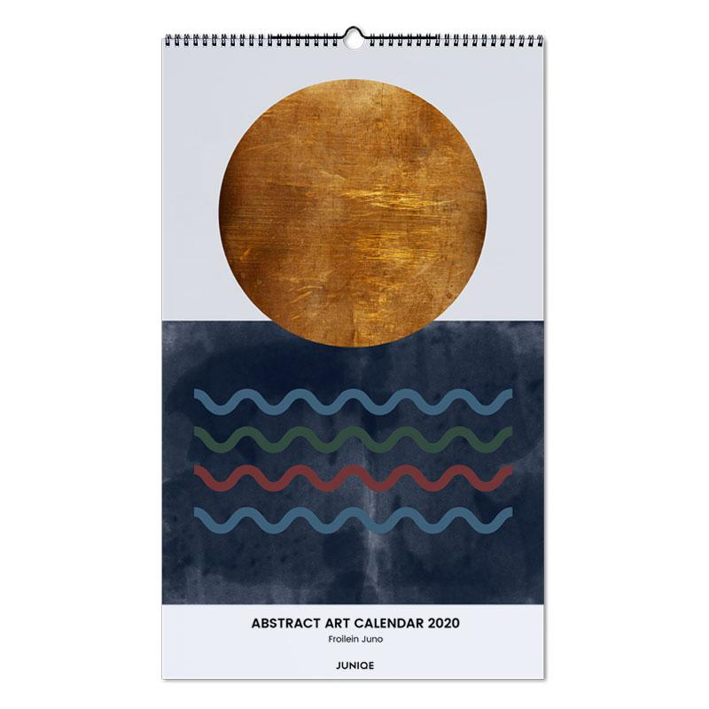 Abstract Art Calendar 2020 - Froilein Juno Wall Calendar