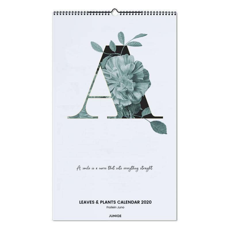Leaves & Plants Calendar 2020 - Froilein Juno Wall Calendar