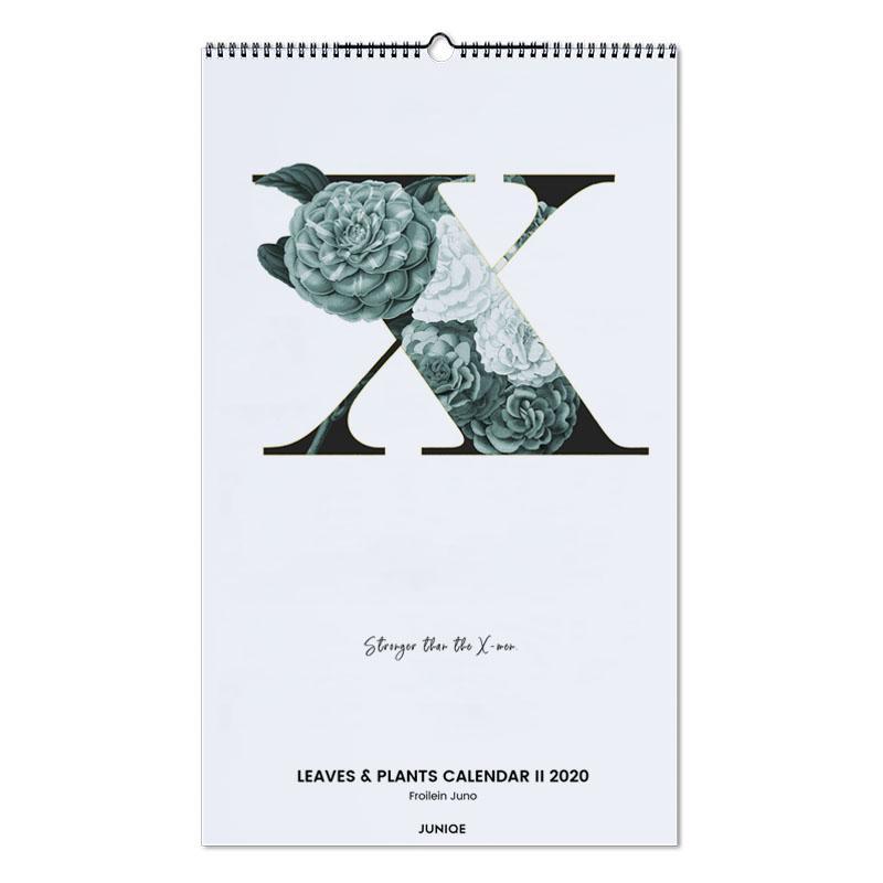 Leaves & Plants Calendar II 2020 - Froilein Juno -Wandkalender