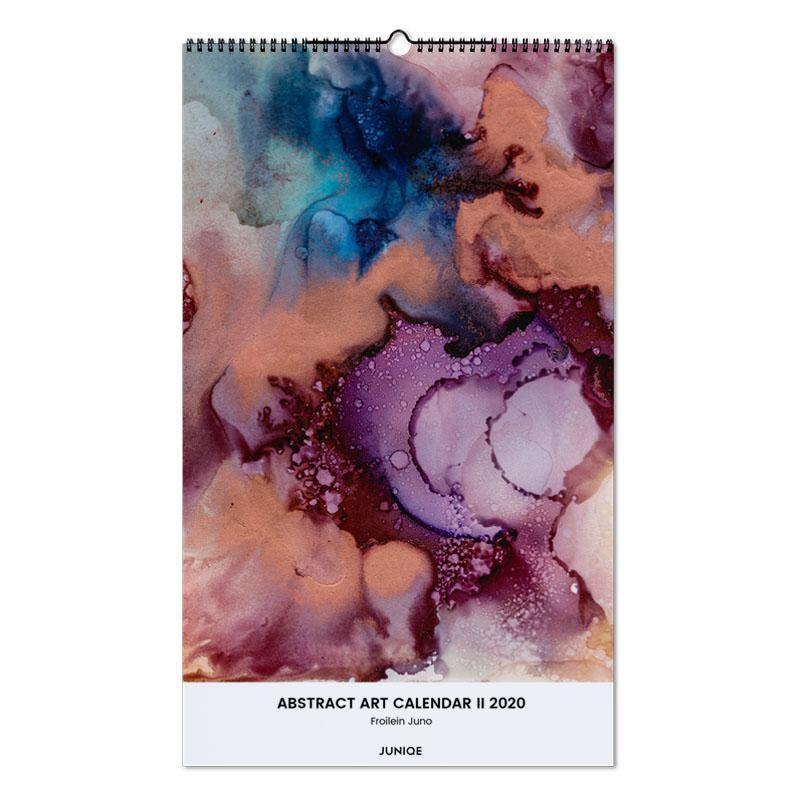 Abstract Art Calendar II 2020 - Froilein Juno Wall Calendar
