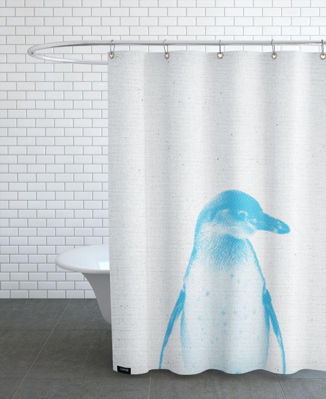 Art pour enfants, Pingouins, Pinguin 01 rideau de douche
