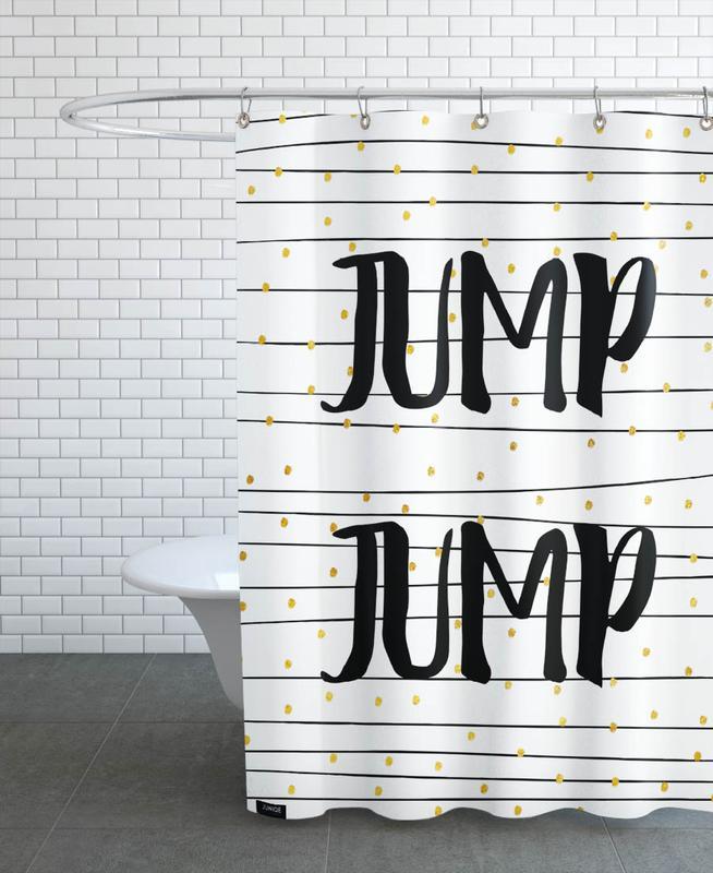 Zitate & Slogans, Glückwünsche, Hochzeiten, Jump -Duschvorhang