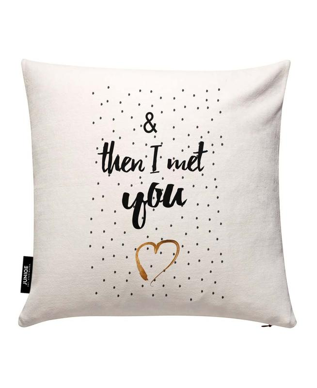 Met You Cushion Cover