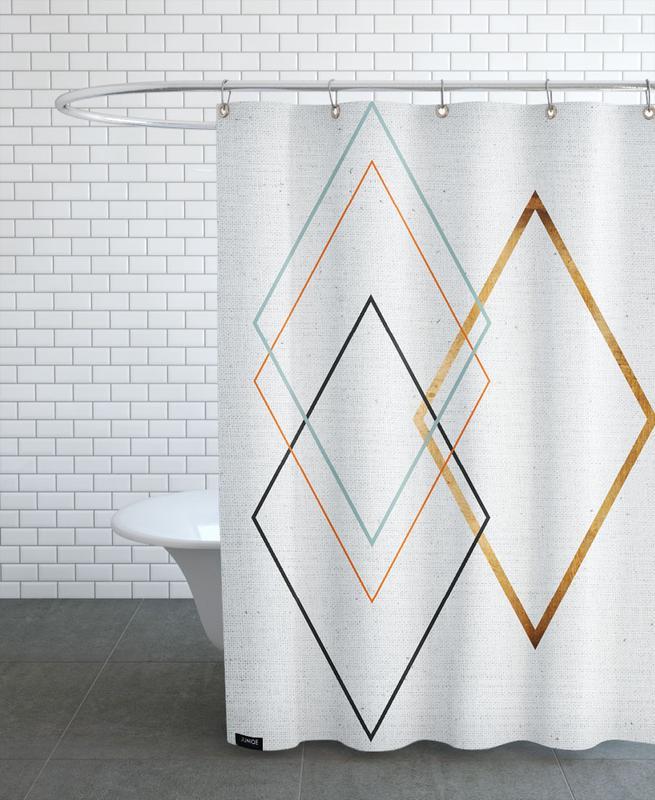 Diamond -Duschvorhang