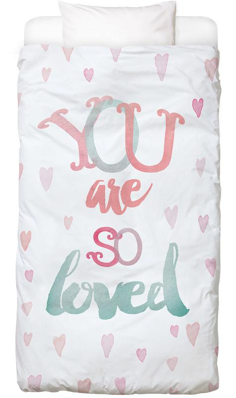 You Are So Loved Kids' Bedding