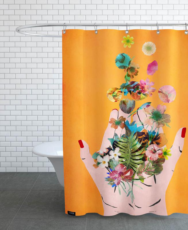Frida's Hands Shower Curtain
