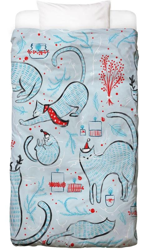 Christmas Cats Bed Linen
