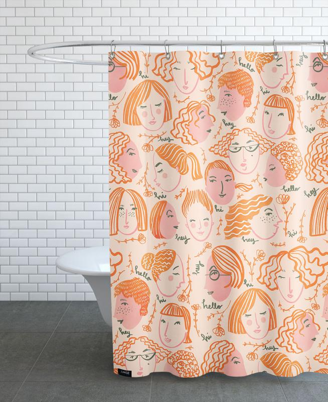 Greetings Shower Curtain