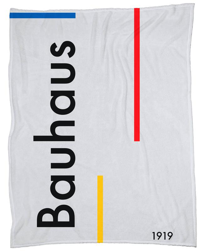 Bauhaus 1919 Fleece Blanket