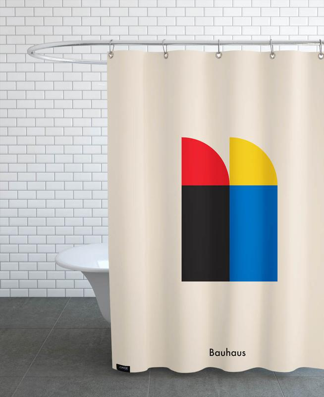 Bauhaus Archive, Berlin Icons Shower Curtain