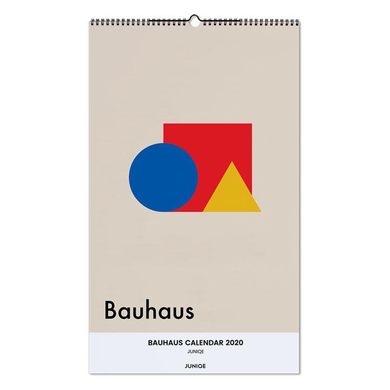 Bauhaus Calendar 2020 - JUNIQE -Wandkalender