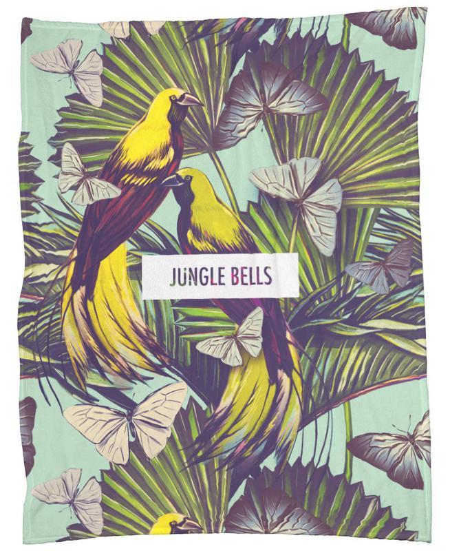 Jungle Bells! Fleece Blanket